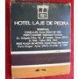 Caixa Fósforo Hotel Laje De Pedra - Canela - Completa - A39
