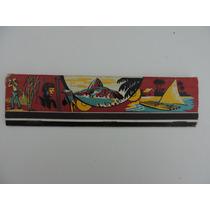 Caixa De Fósforo Antiga Grande Lembrança Do Brasil