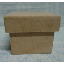 Caixa 6x6x5 De Mdf Crú ( Lote 10 Unidades )