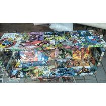 Nicho Expositor Personalizado Em Decoupage - Herois Marvel