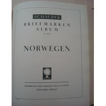 Fil A574 Folhas Album Schaubeck Alemão Selos Da Noruega