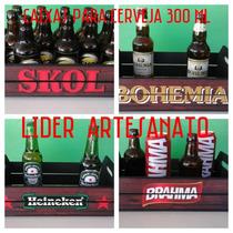 Caixa Decorativa Cerveja 300 Ml,longnet,latas Etc ....