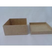 Kit 20 Caixas Mdf 10x10x05 - Tampa De Sapato