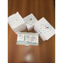 Kit De Higiene Para Bebê Em Mdf