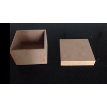 Caixa 6x6 X6 Em Mdf Cru
