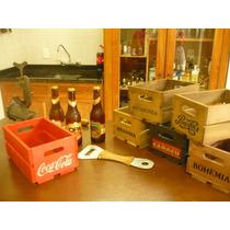 Caixas Cerveja Coca Cola, Vintage, Não Antiga Decorativas