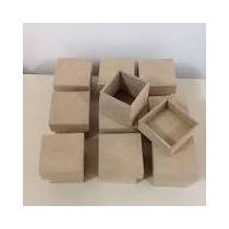 Caixas De Madeira Mdf Pequenas Crua 5 X 5 Kit Com 10