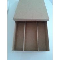 Kit 10 Caixas Com Tampa Sapato Divisórias Para Vinho E Taças