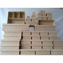 Caixa Em Mdf Cru - 10x10x5-