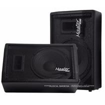 Kit Monitor Retorno Ativo+passivo 320w Rms Af12 Master Audio