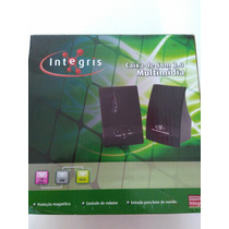 Caixa Multimídia 2.0 Usb 2w Rms Preto - Integris