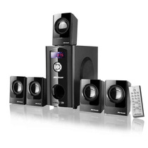 Home Theater 5.1 80w Rms Bivolt C/ Usb Sd E Radio Fm (sp110)