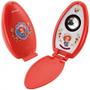 Caixa De Som Moranguinho Vermelha Pc Computador Usb