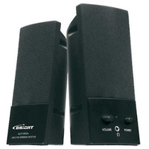 Caixinha De Som 127v Multimedia Speaker Bright Modelo 02307