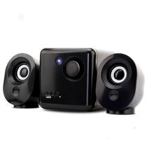 Caixa De Som 2.1 Subwoofer Bluetooth Amplificada Usb Tv Fm