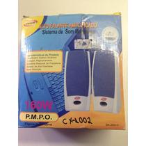 Caixa De Som Para Pc Cx-1002