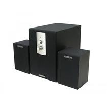 Caixa De Som Com Subwoofer Amplificado, Áudio 2.1 Bivolt 12w