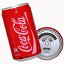Caixinha De Som Lata Coca Mp3 Usb P2 Fm