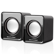 Mini Caixa De Som Multilaser Modelo Sp144 2.0 3w Rms Preto