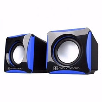 Mini Caixa De Som Magic 2.0 Sub Woofer P2 Super Potente 656
