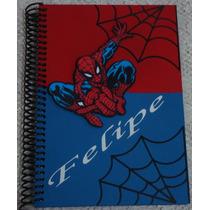 Caderno Assinaturas Homem Aranha , Aniversário, Maternidade