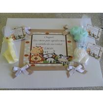 Caixa Com 50 Lembrancinhas Perfumadas Maternidade E Chá Bebê