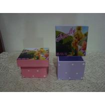Lembrancinha Aniversários Maternidade Tinker Bell Caixa Mdf