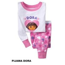 Pijama Infantil Dora Aventureira Tamanho 2 Anos