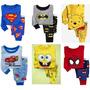 Conjuntos Pijamas Baby Gap Meninos H Aranha Pooh Carnaval