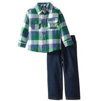 Boys Rock - Conjunto Calça Jeans + Camisa Tam. 2 Anos (2t)