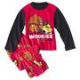 Angry Birds Pijama Em Fleece Tam 8 Anos