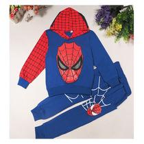 Homem Aranha Conjunto Infantil Menino Heróis