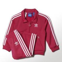 Agasalho Adidas Infantil Conjunto Blusa E Calça Menina