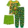 Pijama 3 Peças Tartarugas Ninjas Tam. 5t