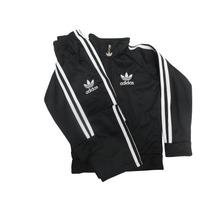 Agasalho Adidas Infantil Conjunto Blusa E Calça Promoçao