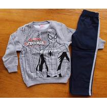 Conjunto De Moletom Infantil Marvel Homem Aranha Spider Man