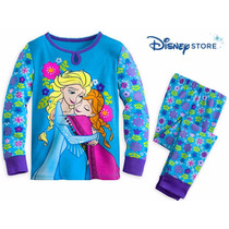 Pijama Princesas Elsa Anna Frozen Original Disney