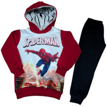 Conjunto De Moletom Infantil Com Calça Spider Man T. 2 Ao 10