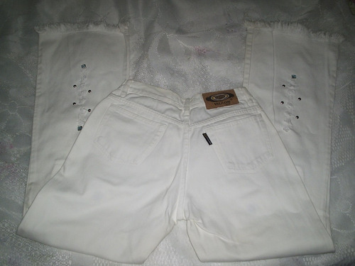 Calça Jeans Vilon Branca Vilon Tamanho 40 Frete Gratis