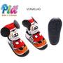 Meia Com Solado Mickey Disney 3d Fortex