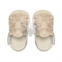 Sandália Para Bebê Infantil Menino Bege - Tip Top - 4babies