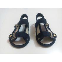 Sandália Azul Marinho Marca Pimpolho N1