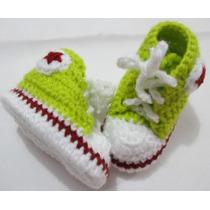 Sapatinhos De Bebê - Tipo Tênis All Star