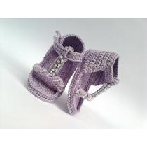 A101 Sandalia Varias Cores Sapatinho Infantil Croche Menina