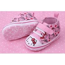 Pronta Entrega Sapatinho Bebê Menina Hello Kitty