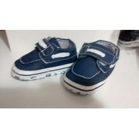Tênis Bebê Azul Jeans Importado