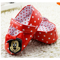 Sapatinho Minnie Bebê Disney Antiderrapante Frete Gratis