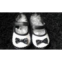 Sapato Sapatinho Bebê Menina Importado No Brasil Poá Branco