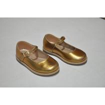 Sapato Dourado Social Verniz P/ Bebê Menina - Lindo !