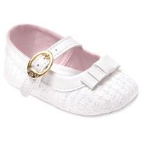 Sapato Branco Batizado Premium Pimpolho 17326c